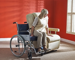 Wheelchair Access Chair Med Deluxe
