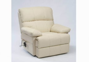 Houston Cream Electric Recliner